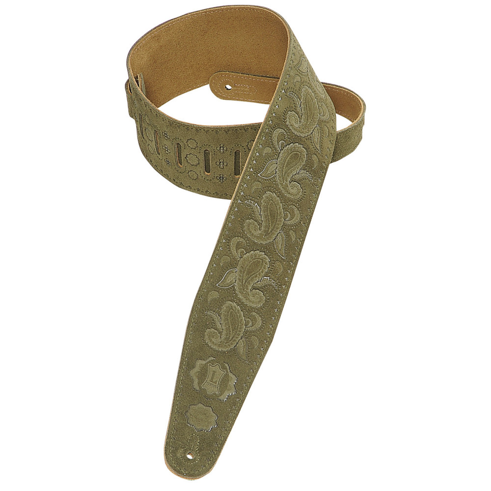 LEVY/'S GREEN GUITAR STRAP