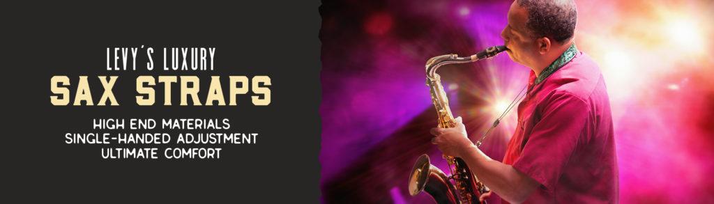 Luxury Saxophone Straps