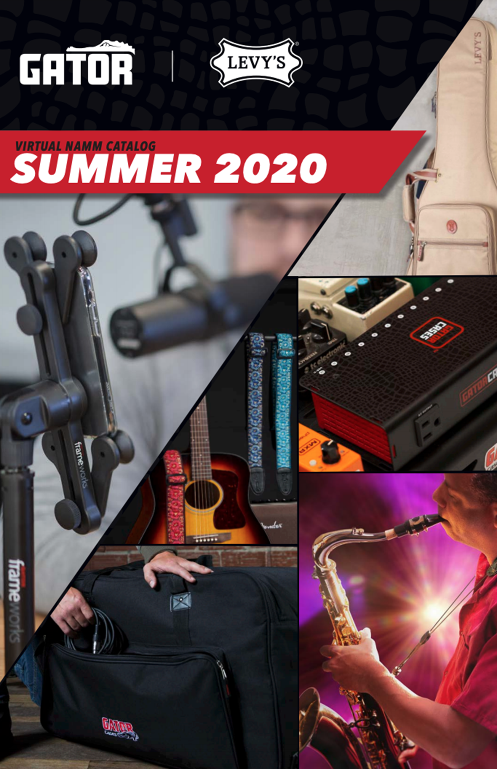 2020 Gator and Levy's Catalog – Virtual Summer NAMM Edition